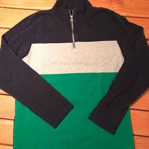 Boys 1/4 zip sweater